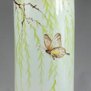 hand painted Ceramic decorative jars and lids