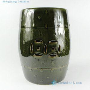 "RZCS01 H14.4"" Ceramic Garden Stool"