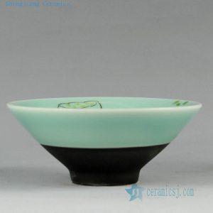 RYZU11 Jingdezhen Porcelain Tea Cups HAND made hand painted