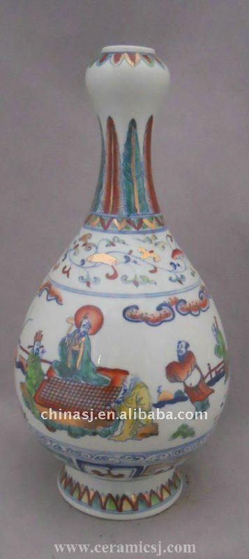 antique chinese decoration Porcelain vase WRYPJ13