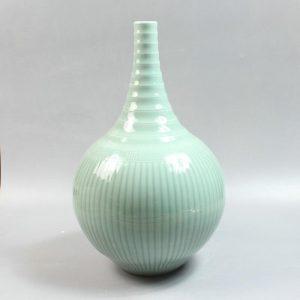 "RYMA92 15.7"" modern vase bamboo design"