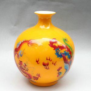 RYXF03 11.8 inch phoenix design modern vases