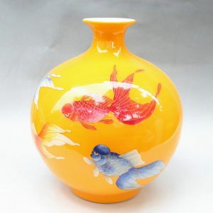 RYXF07 11.8 inch fish design vases middle vases