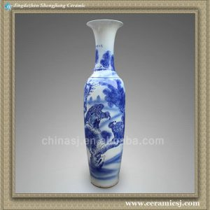 RYXJ02 Blue white big vases