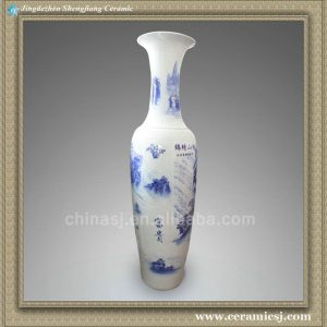 RYXJ08 73 inch Chinese Porcelain floor vase