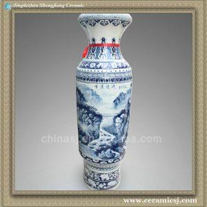 RYXK02 59.8 inch Chinese blue white large vase