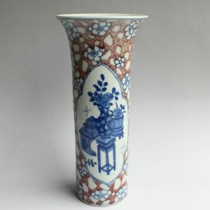 "RZXN14 8.8"" Jingdezhen ceramic flower vases wholesale"