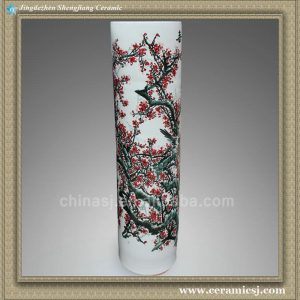 RYXT06 Chinese porcelain floor tall hand painted vase