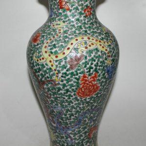 """RYYD08 16"""" Chinese floral design ceramic vase"""