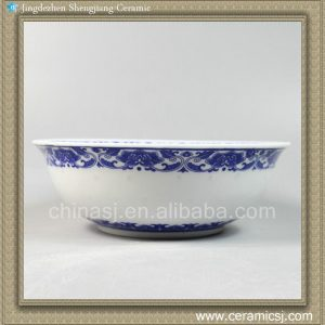 "RYYP08 8.5"" Ceramic Blue and white Rice Bowl"