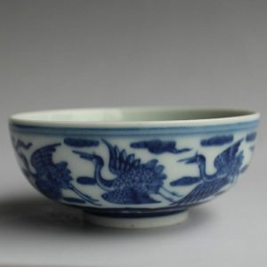 Jingdezhen hand made blue white Tea cups