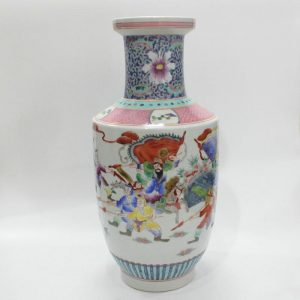 "RYZJ04 16"" Painted Chinese famille rose vase ceramic"