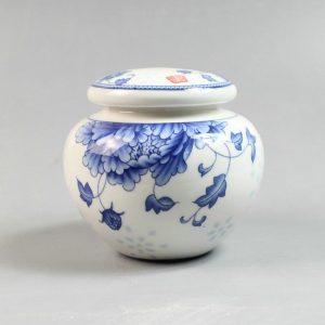 Jingdezhen blue and white ceramic Tea Jars