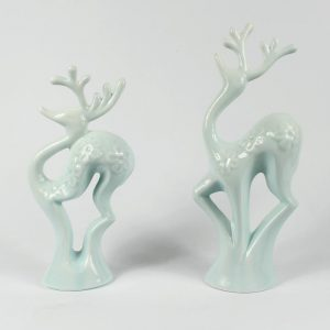 RZAN01 Pair of deer figurine