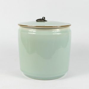 "RZBF07 6.5"" ceramic glazed tea jars"