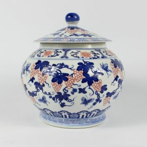 Jingdezhen blue white Tea jars
