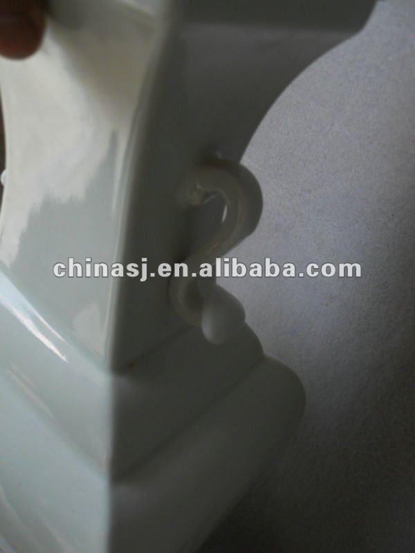 blanc de chine square vase WRYTK07