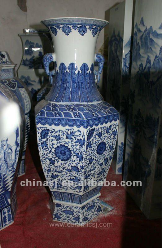 large tall ceramic flower vase RYUZ02
