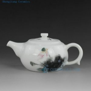 Jingdezhen hand made painted porcelain tea pots