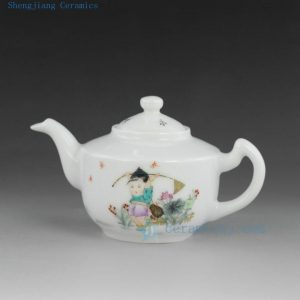 Jingdezhen hand made hand painted tea pots