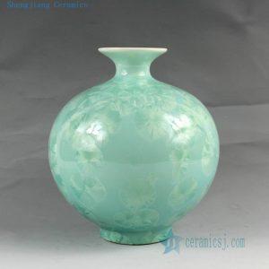 "RZCU01 H7.5"" Jingdezhen crystal ceramic vases"