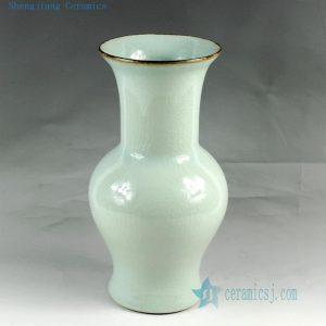 "RZCV01 H12.2"" Jingdezhen ceramic crackle vases"