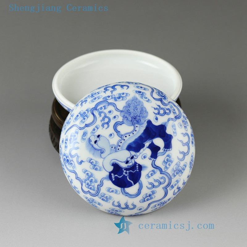 Multi Colored Jar Jingdezhen Shengjiang Ceramic Co Ltd