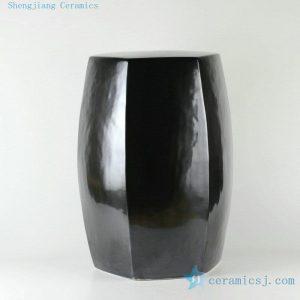 "RYNQ170 19.5"" 6 sided solid color ceramic stool patio barstools"