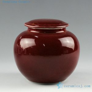oxblood and celadon tea cups jars and snuff bottles