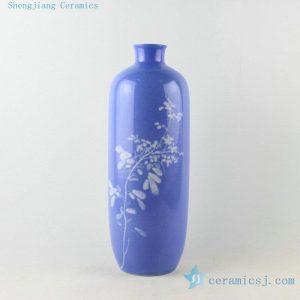 Jingdezhen Blue ware vases