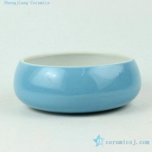 solid color ceramic flower bowls