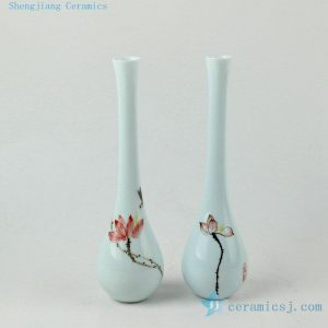 Jingdezhen small ceramic vases painted flower