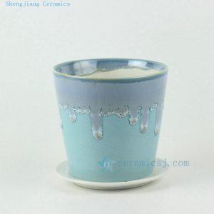 6 color 12cm Small porcelain planter