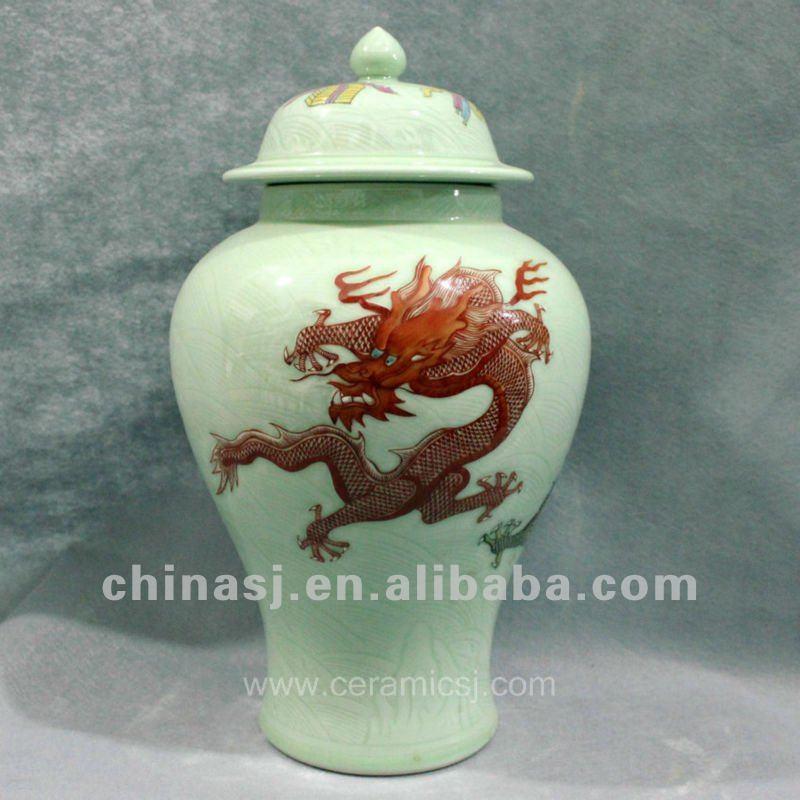 dragon ceramic Home Decor Ginger Jar RYUX05