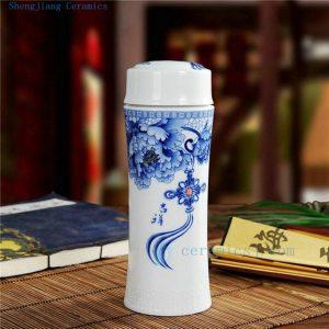 CBAJ02 Jingdezhen Ceramic vacuum cup gift box available