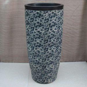 Floral design Ceramic Pedestal Lavatory