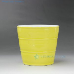 RYYF23 Small Solid color ceramic planters