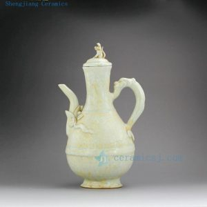 "RZEI02 12"" Porcelain pot pitcher"