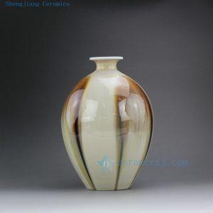 """RZEK01 10"""" Transmutation glazed porcelain vases"""