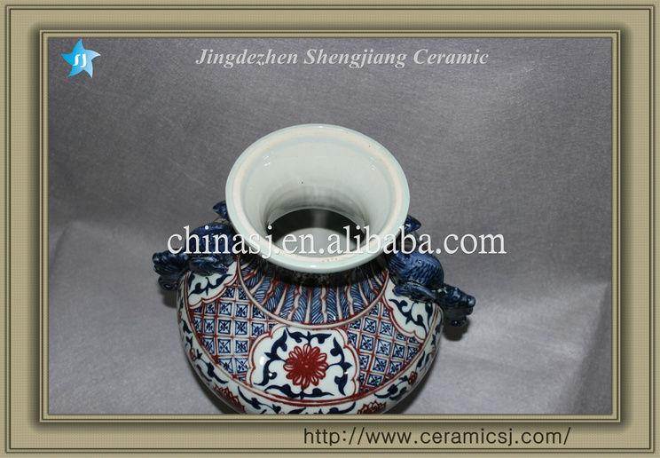 blue and white chinese ceramic vase RYVK08