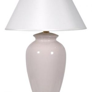 Ceramic white table lamps