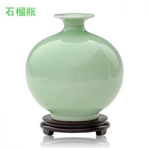 Celadon Green Ceramic Vases