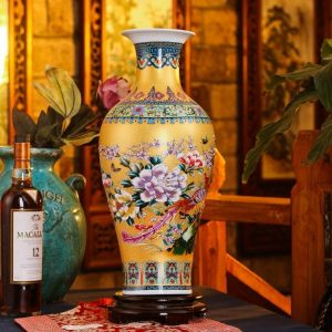 Colorful ChineseCeramic Vases