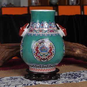 Deer Handle Ceramic Vases