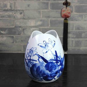 Blue White Decorative Vases