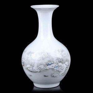 Snow design Porcelain Vases