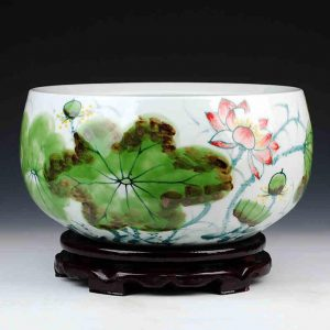 High quality Hand Painted Ceramic Fish Bowls