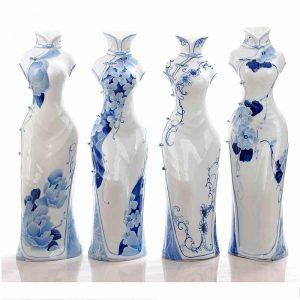 China Ceramic Cheongsam Figurine