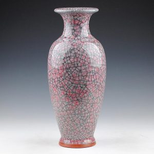 h14 inch Ceramic Crackle Jun Vases