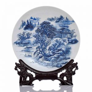 C58 10inch wholesale decor ceramic plates